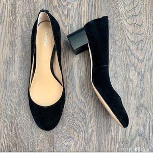 Lands End block heels
